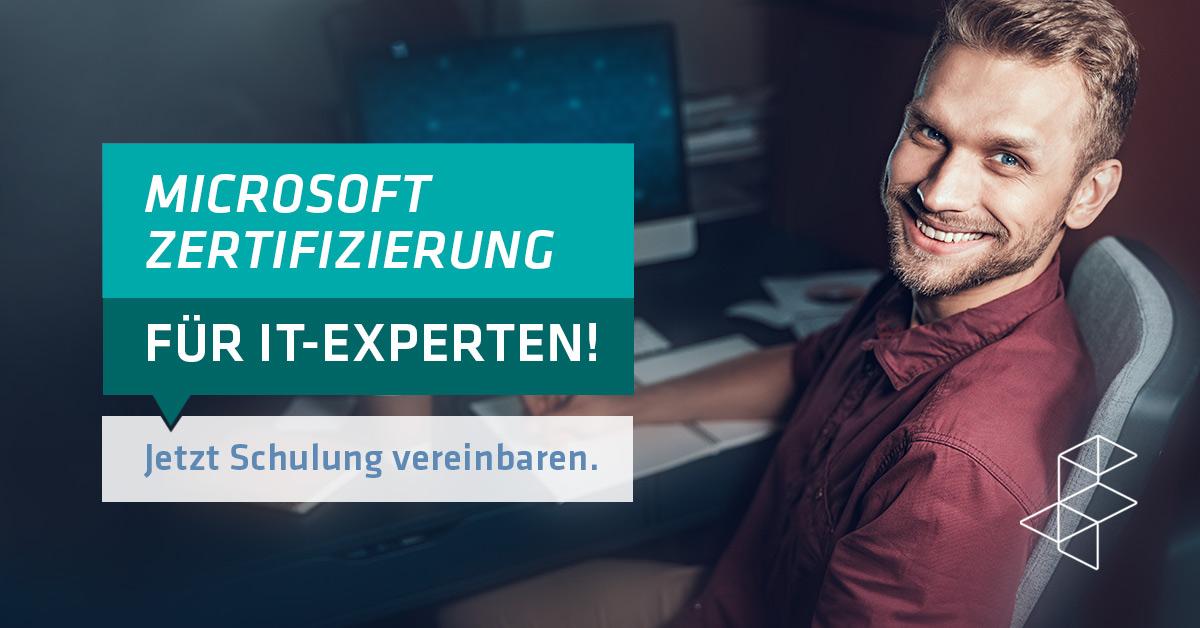 Microsoft Zertifizierung für IT-Experten
