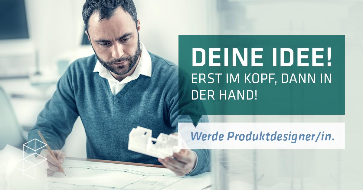 Produktdesign – Deine Idee! Erst im Kopf, dann in der Hand!
