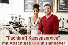 """mehr Informationen zu: """"Fachkraft Kassenservice"""" mit Abschluss IHK in Hannover in Teilzeit"""