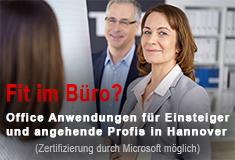 Office Anwendungen für Einsteiger und angehende Profis in Hannover