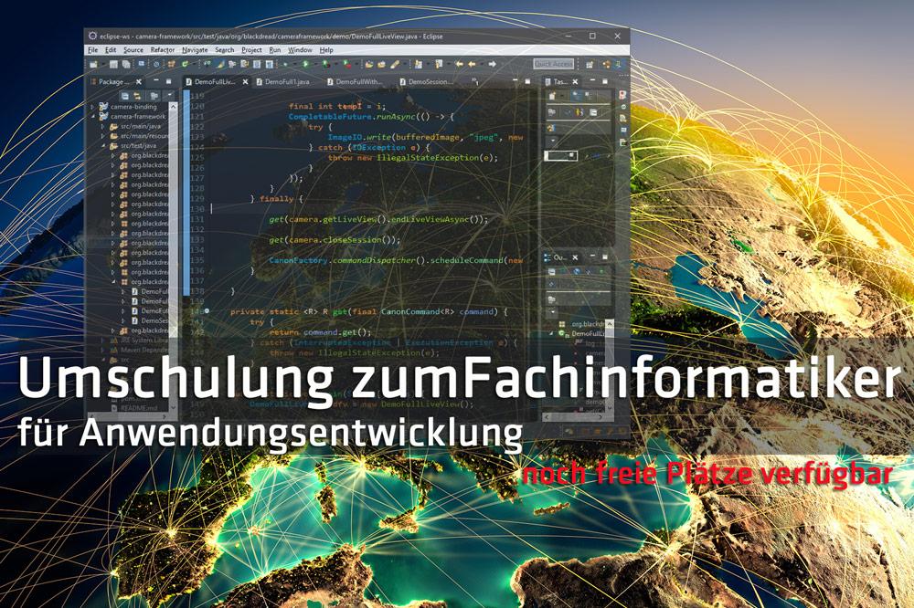 Umschulung Fachinformatiker Anwendungsentwicklung Halle