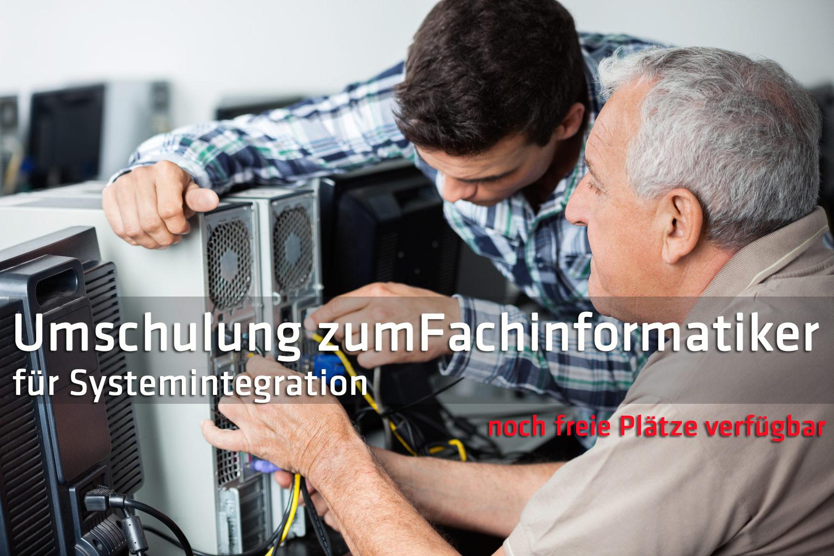 Umschulung Fachinformatiker Systemintegration Halle