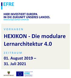 EFRE-Unterstützung für Projekt Hexikon